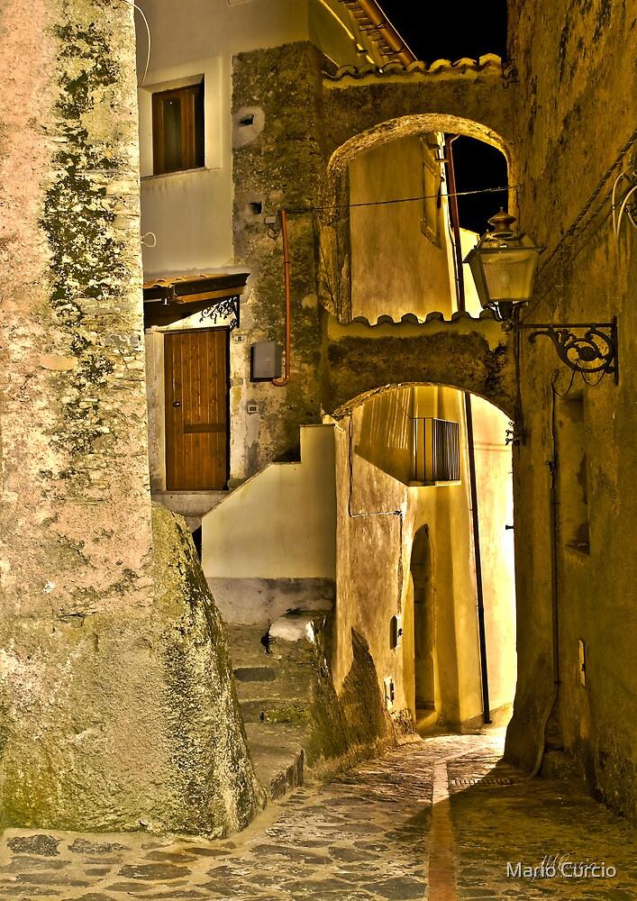 Streets of an Italian Village by Mario Curcio