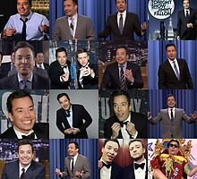 Jimmy Fallon Collage by Emmycap