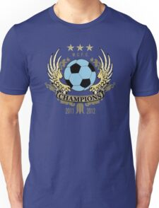 Manchester City Champions Unisex T-Shirt