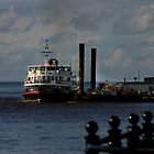 Liverpool ferry, on the Mersey by Ian Moran