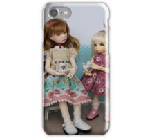 Doll teaparty iPhone Case/Skin