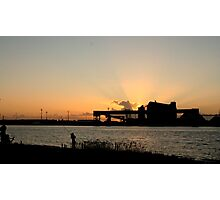 SUNRISE FISHERMAN Photographic Print