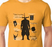Dragon Age - Iron Bull Quotes Unisex T-Shirt