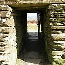 Druid Doorway - Grainan Of Aileach Fort -Donegal - Ireland by mikequigley