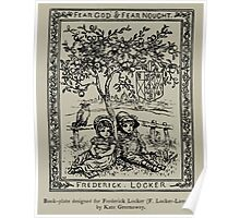 Kate Greenaway Collection 1905 0190 Book Plate for Frederick Locker Lampson Poster