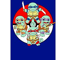 Ninja Squirtle Photographic Print