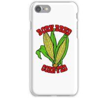 BORN BRED CORN FED (red) iPhone Case/Skin