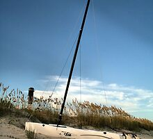 Beached Boat by Intheraine
