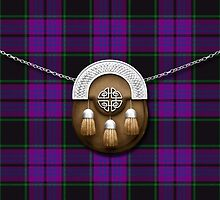 Clan Laird Tartan And Sporran by thecelticflame