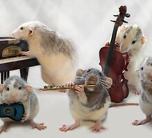 Little musicians 2 by Ellen van Deelen