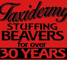 TAXIDERMY STUFFING BEAVERS FOR OVER 30 YEARS by fancytees