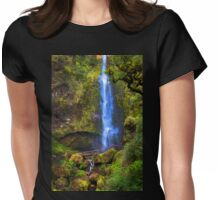 El Chorros Waterfalls of Giron XIII Womens Fitted T-Shirt