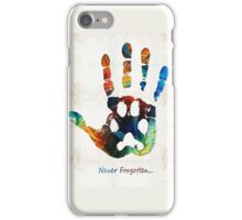Rainbow Bridge Art - Never Forgotten - By Sharon Cummings iPhone Case/Skin