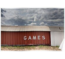 Games - Roadside, Texas Poster