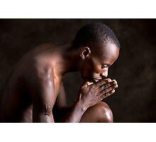 Gilbert's Prayer Photographic Print