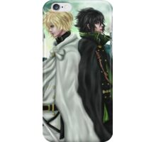Seraph of the End - Mika & Yu iPhone Case/Skin