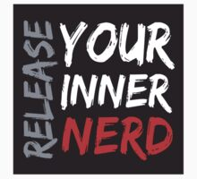 Release Your Inner Nerd Kids Clothes