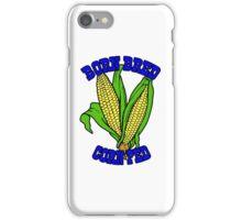 BORN BRED CORN FED (blue) iPhone Case/Skin
