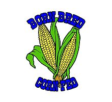 BORN BRED CORN FED (blue) by GentryRacing