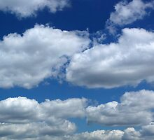 Cloudscape over Loampit Vale by John Gaffen