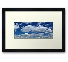 Cloudscape over Loampit Vale Framed Print