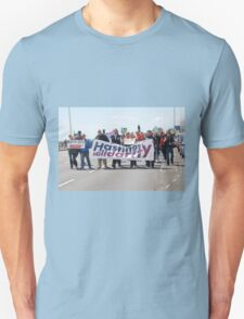 Austerity protest march, Hastings Unisex T-Shirt