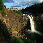 Snoqualmie Falls, Washington, USA by John Gaffen