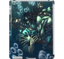 Merman and the seaman iPad Case/Skin