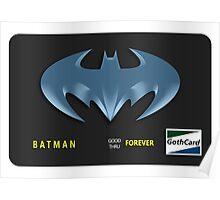 Bat-Credit Card Poster
