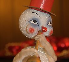 Louis Armstrong the Snowman by KScholtz