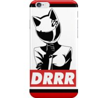 Durarara celty obey iPhone Case/Skin