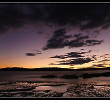 Days End - North Curl Curl Beach by Andrew Kerr