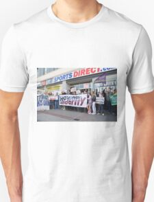 Sports Direct protest, Hastings Unisex T-Shirt