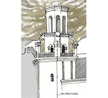 San Xavier Mission East Tower Photographic Print
