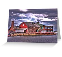 Anthony's Pier 4 Greeting Card