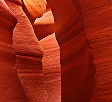 Lower Antelope Canyon by Anne McKinnell