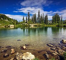 Mountain Lake, Mt Rainier National Park by Jonicool