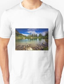 Mountain Lake, Mt Rainier National Park Unisex T-Shirt
