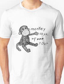 You've Upset the Monkey! (censored) Unisex T-Shirt