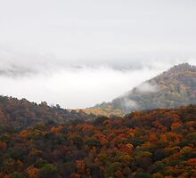 Clouds in the Mountains by Laurel Haarer