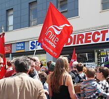 Zero Hour contracts protest, Hastings by David Fowler