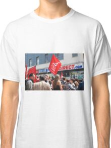 Zero Hour contracts protest, Hastings Classic T-Shirt