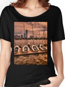 Charles River, Boston MA, USA Women's Relaxed Fit T-Shirt