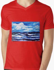Horizon Mens V-Neck T-Shirt