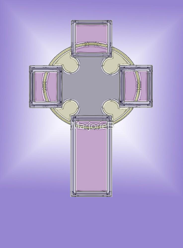 Celtic cross No.1 by MarjorieB