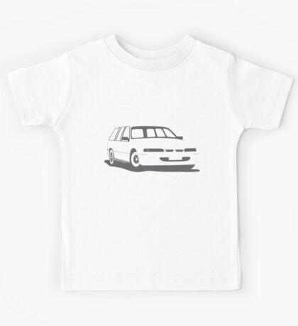 VS Commodore Wagon - Grey Kids Tee