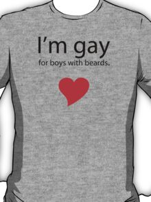 Gay 4 Beards T-Shirt