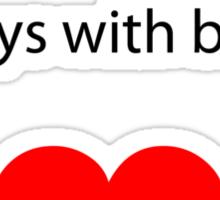Gay 4 Beards Sticker
