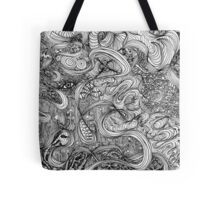 Zentangled  Tote Bag