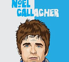 Noel Gallagher by Virgo Araaf